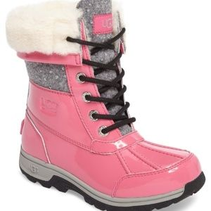 UGG Shoes - UGG BUTTE SPARKLE LEATHER WATERPROOF SNOW BOOTS